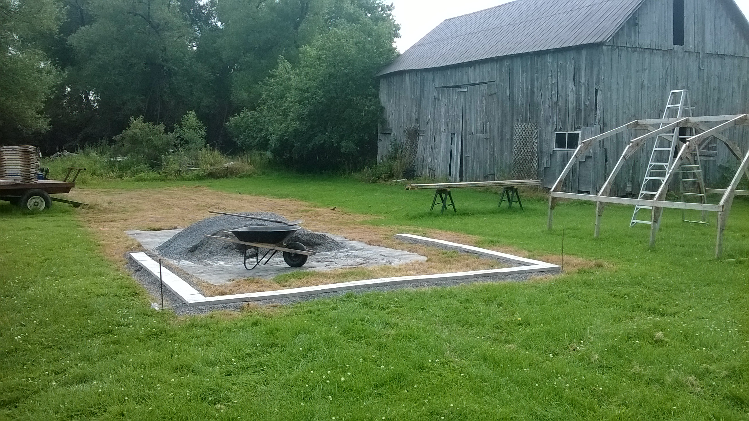 2015 Greenhouse Build